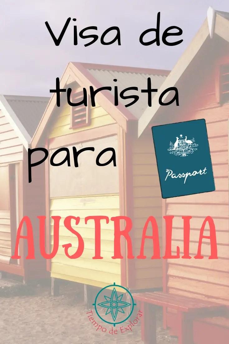 requisitos visa turista Australia