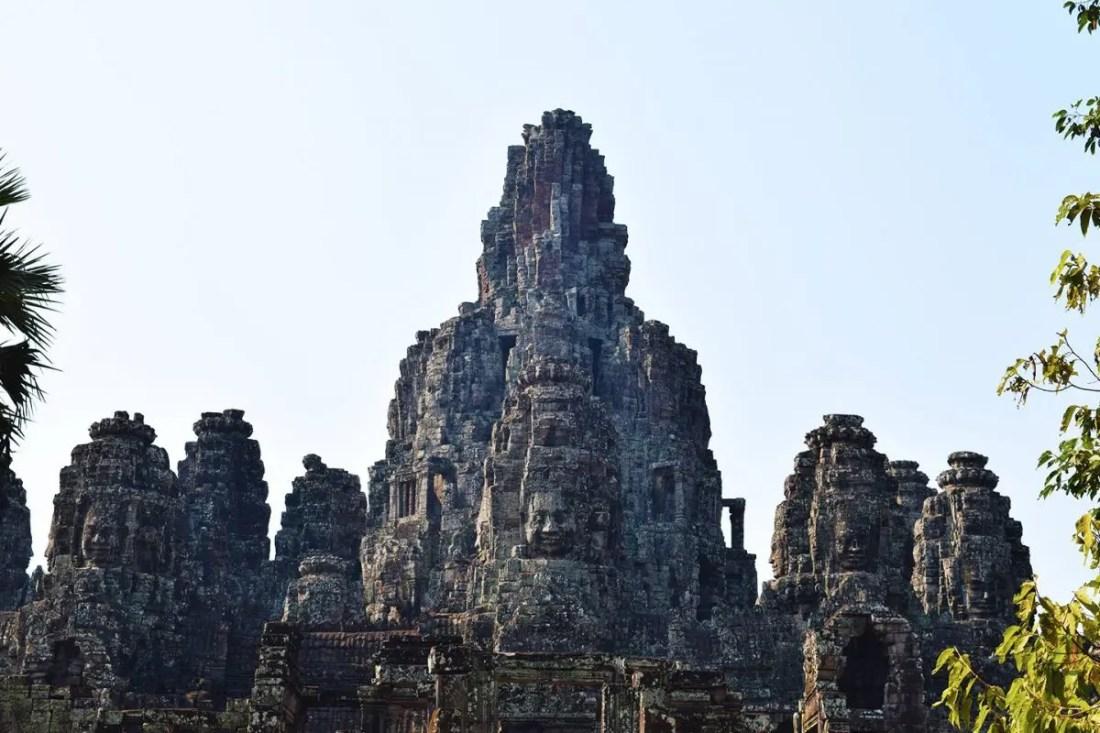 Templo Bayon los templos de angkor wat en camboya