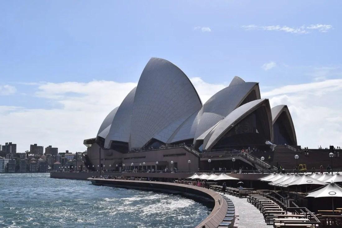Opera House Sydney, Ruta de Sydney a Melbourne, NSW Australia