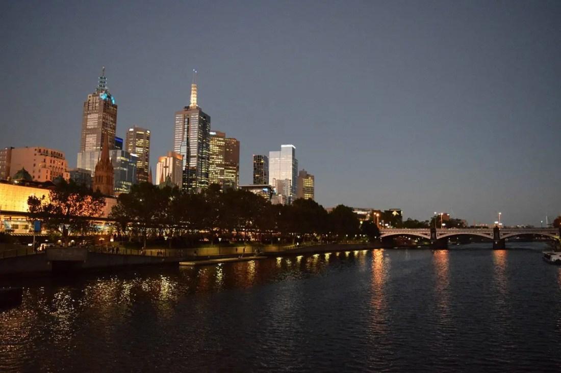 Skyline Melbourne Victoria Australia