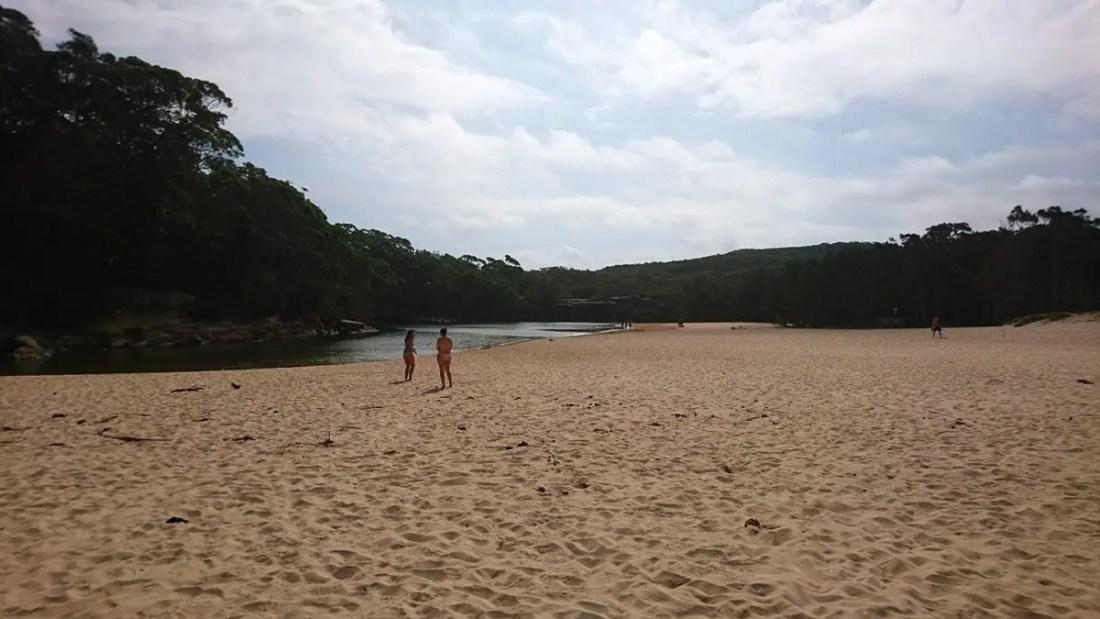 Wattamolla Beach NSW Playas de Australia