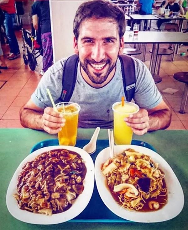 Gastronomía en Singapur