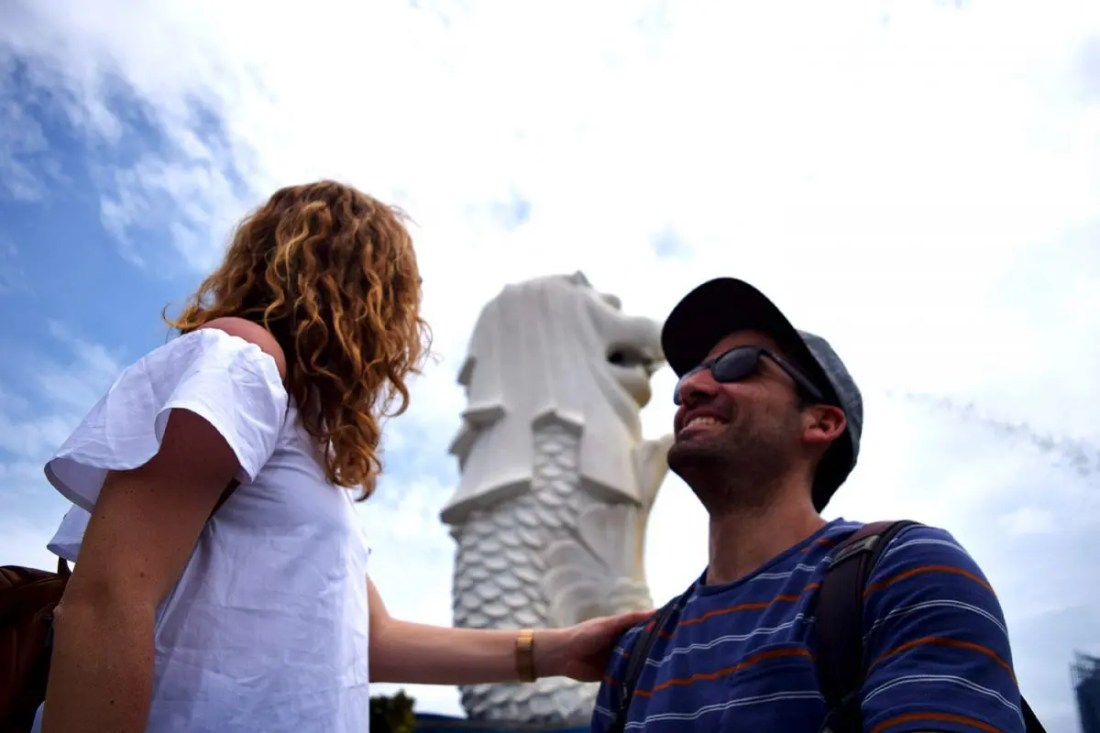 Merlion park Singapur turismo