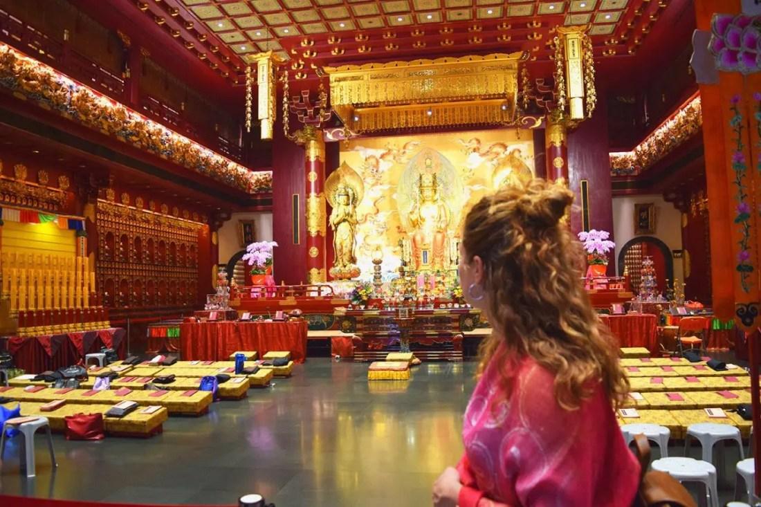 Templo y museo de la reliquia del diente de Buda de Singapur