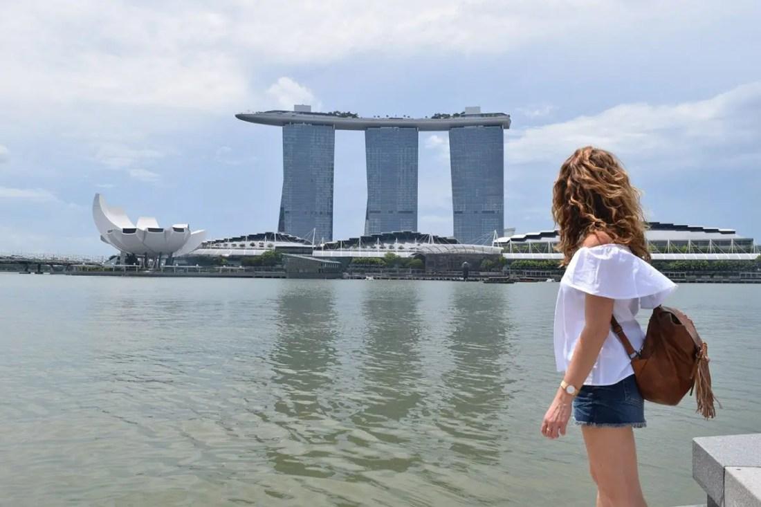 Esplanade, singapur turismo
