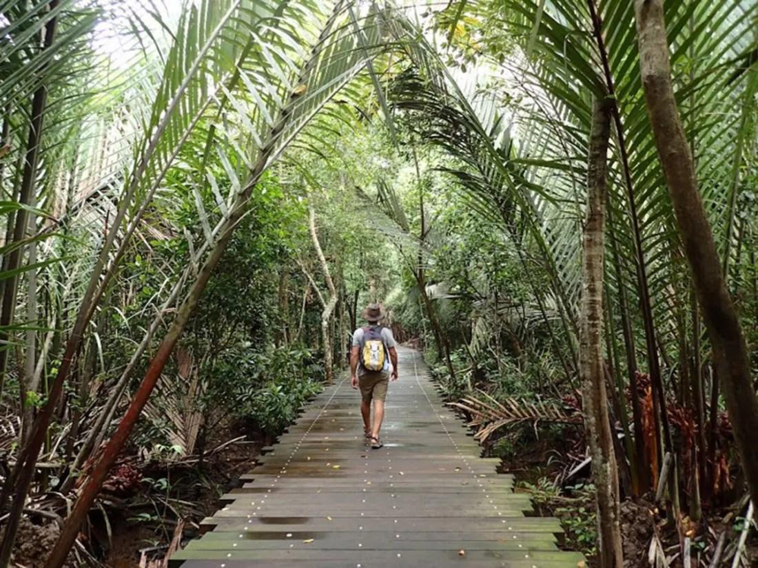 Isla de Palau Ubin, Turismo Singapur