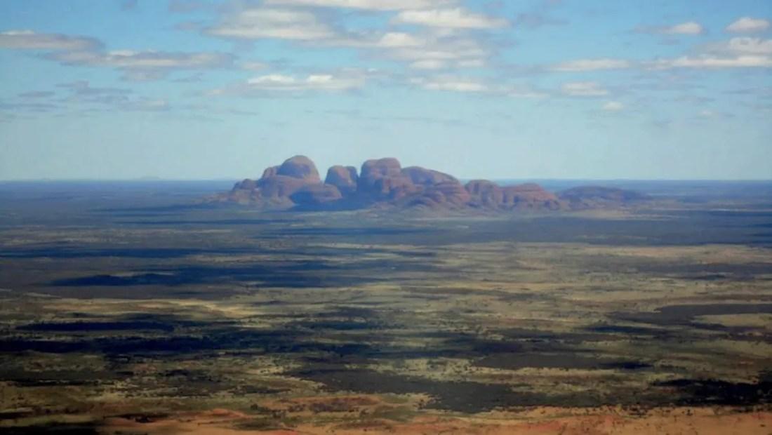 Montes Olga, Territorio del Norte Australia