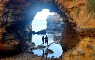 Mirador The Grotto,Great Ocean Road. Viaje de dos semanas por Australia