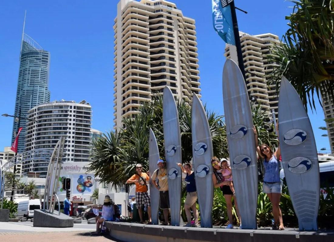 Rutas por carretera de Australia en motorhome: Surfers Paradise
