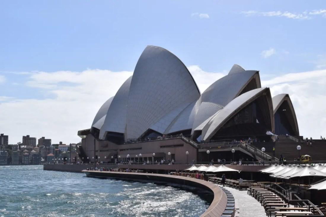 Sydney Opera House. Australia lugares turisticos