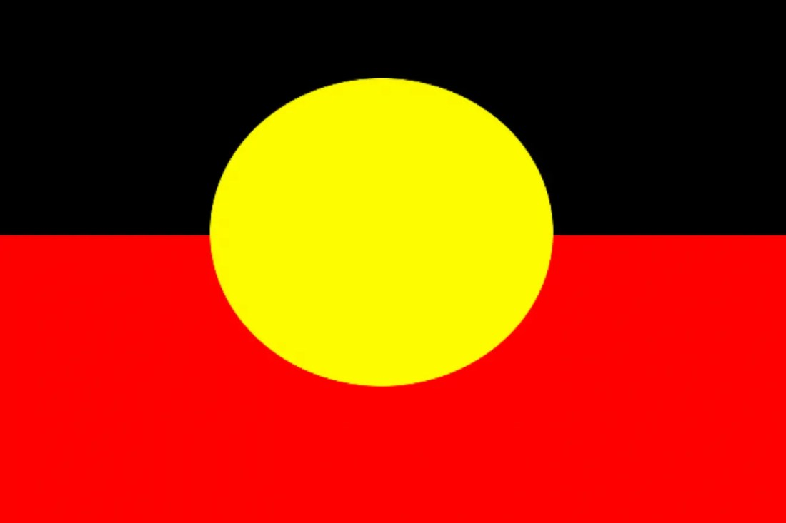 bandera aborigen australiana