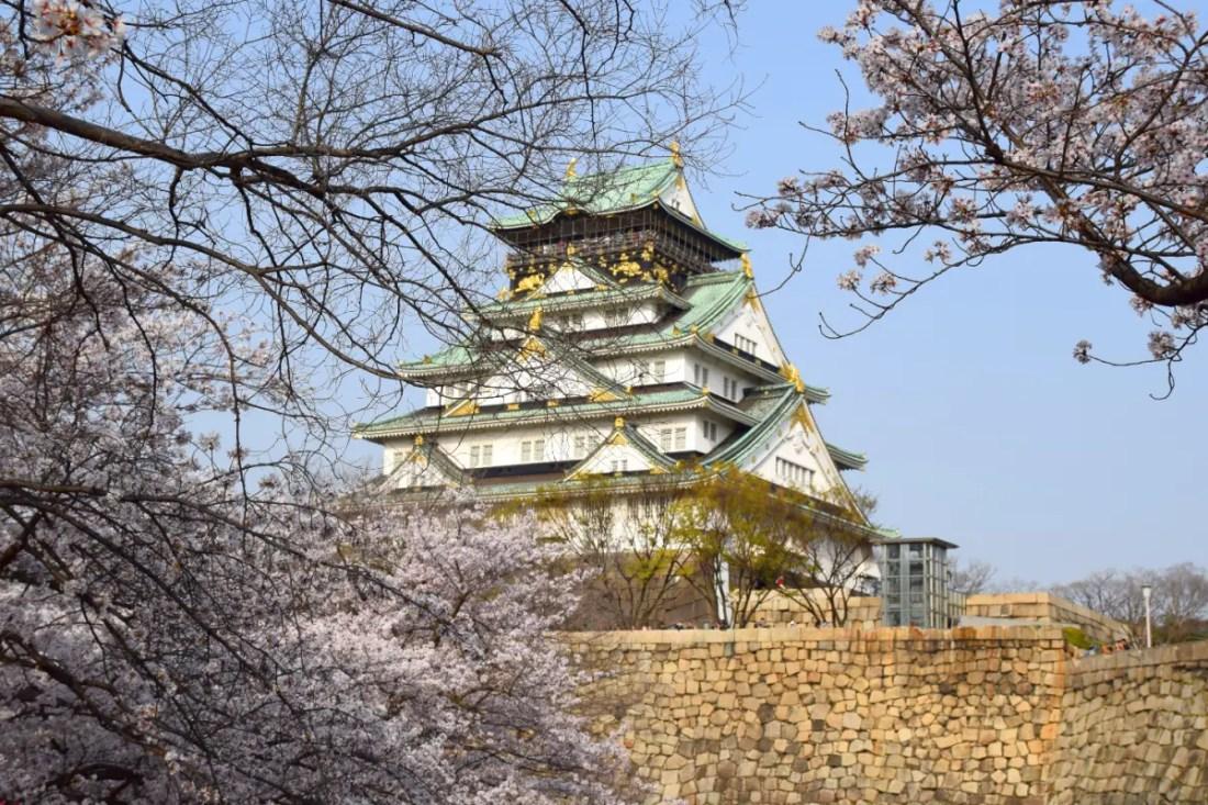 Castillo de Osaka, Qué ver en Japon en 10 días