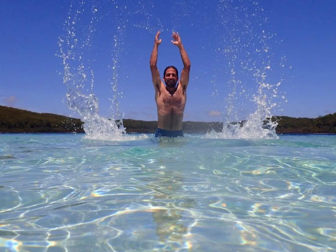 lago Mckenzie Fraser Island Australia