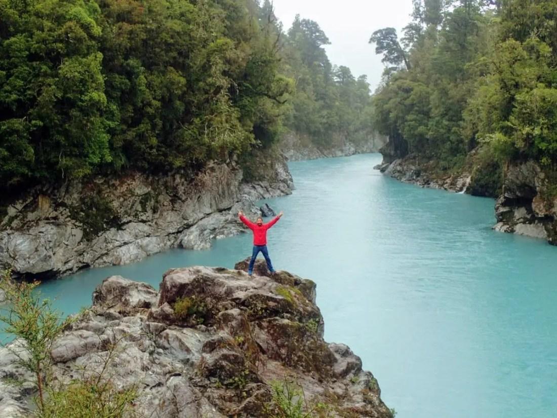 Hokitika Gorge Isla Sur Nueva Zelanda
