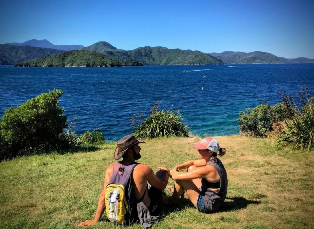 Queen Charlotte Sound Isla Sur NZ