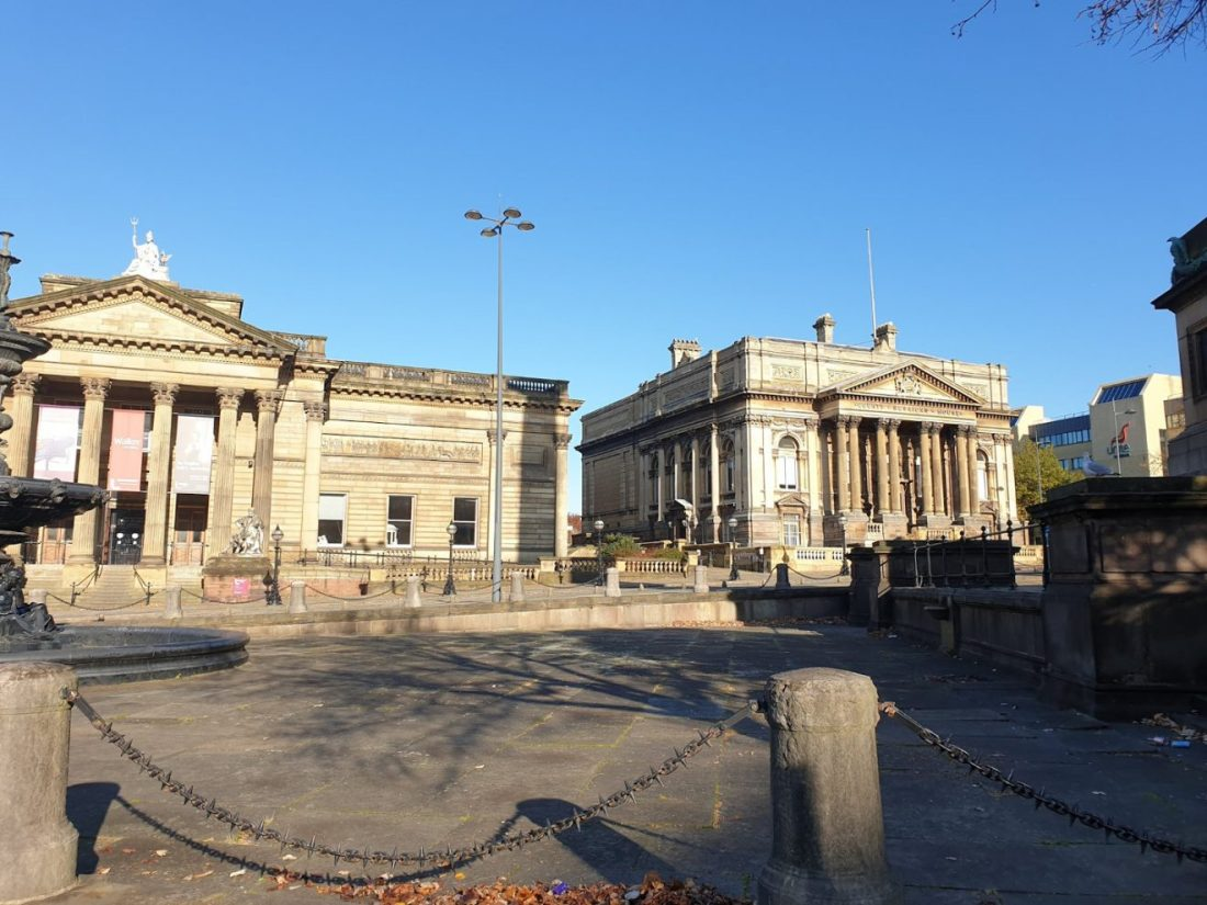 walker art gallery y Biblioteca que ver en Liverpool