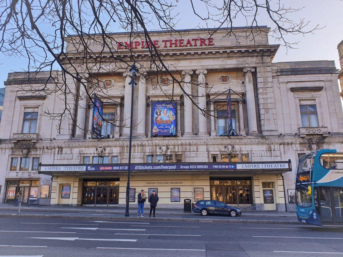 the Empire Theater que hacer en Liverpool