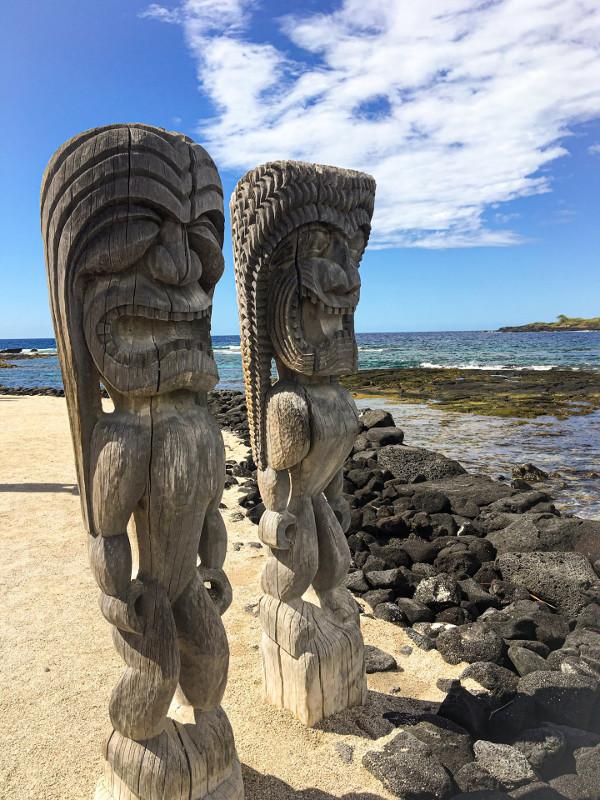 Puʻuhonua o Hōnaunau hawaii
