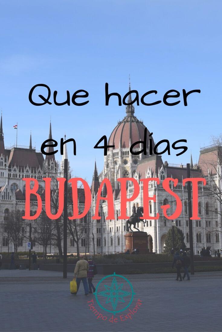 Printerest Que hacer en Budapest en 4 días