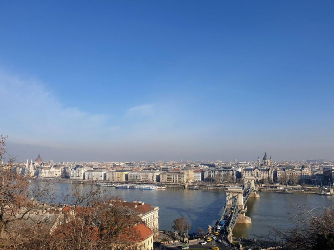 vistas castillo buda Budapest