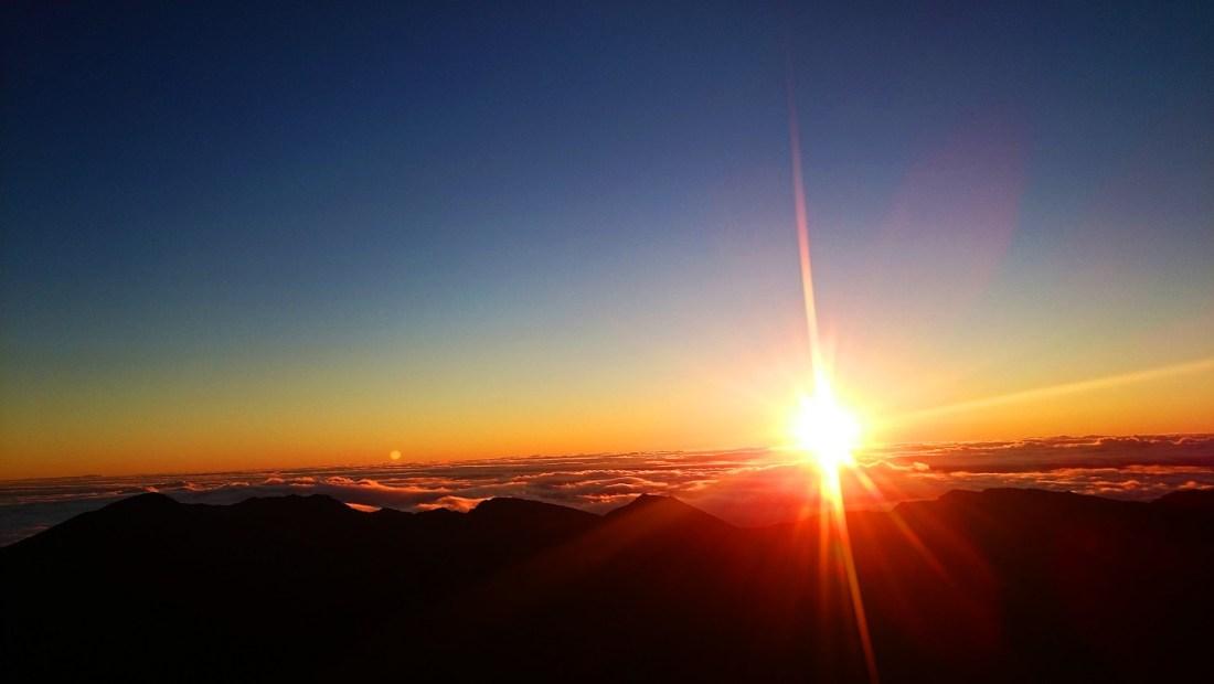 Amanecer en Haleakala Maui