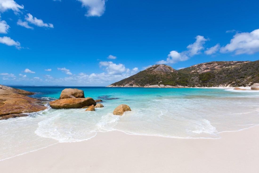 Little Beach en Two People Bay Western Australia
