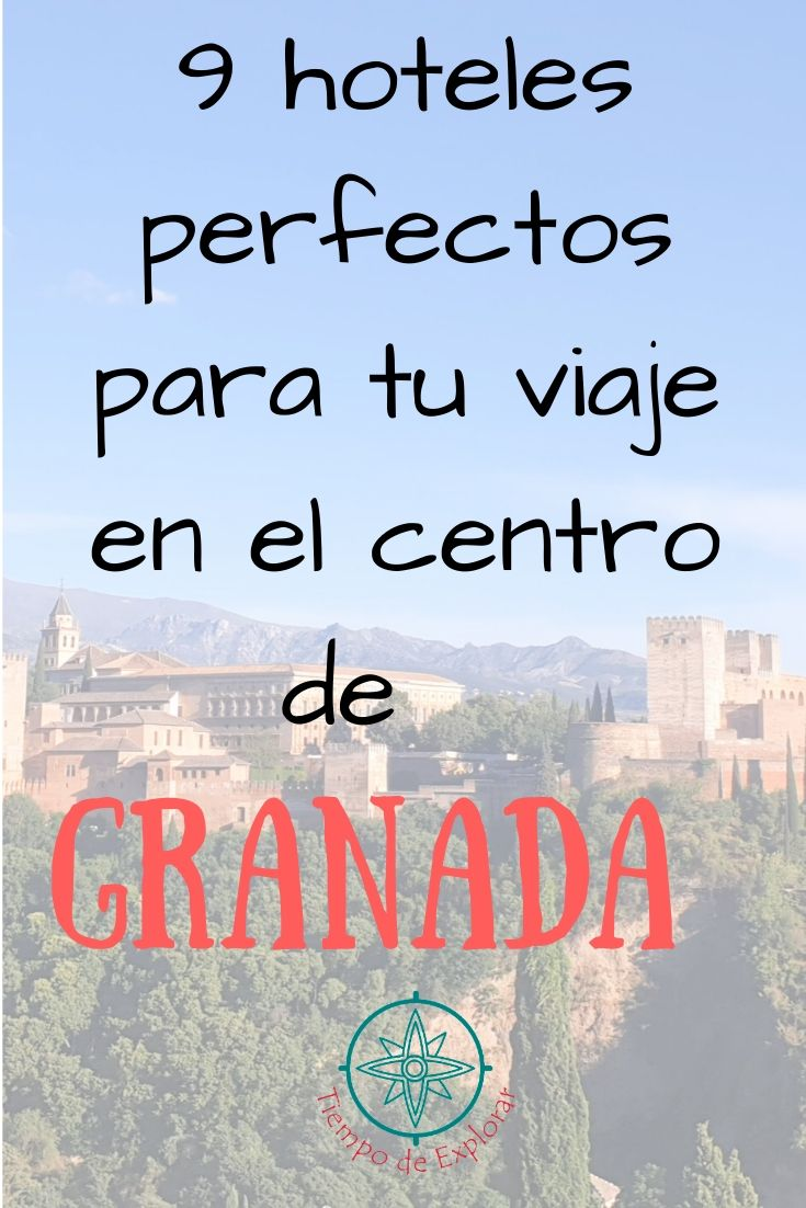 9 hoteles en Granada Centro Pinterest