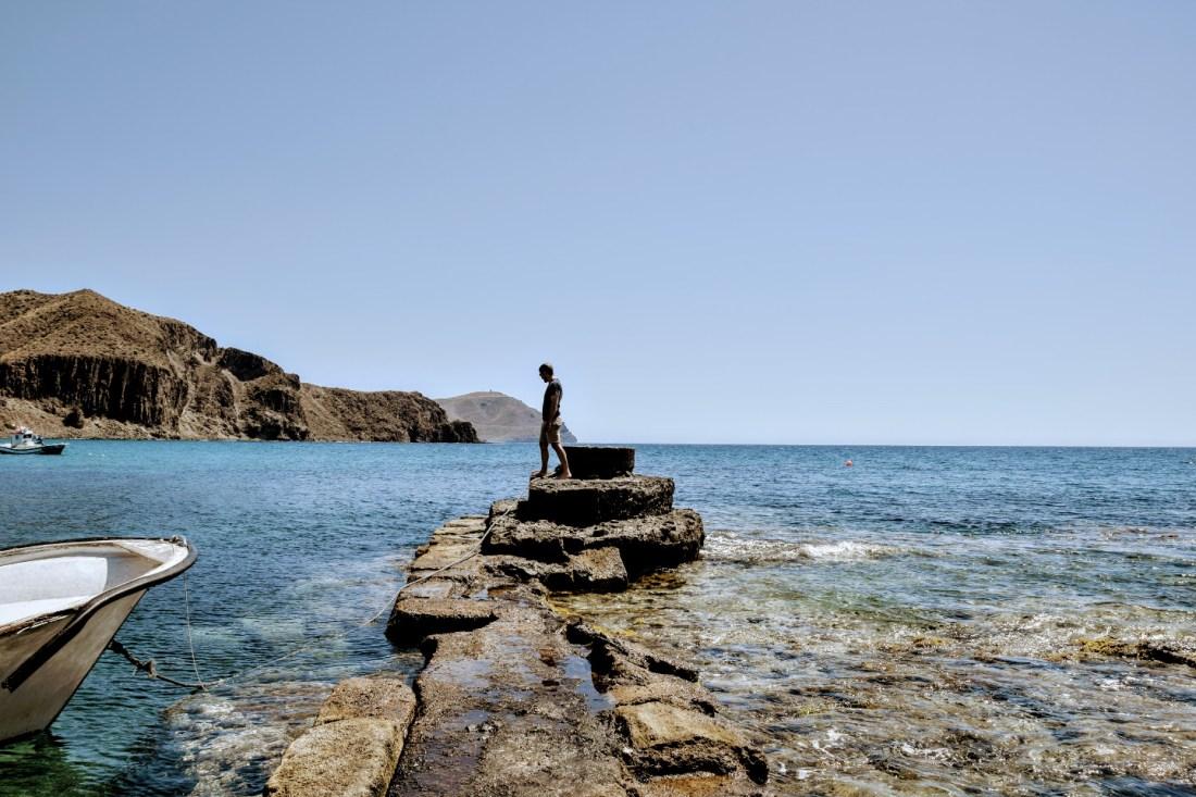barcas Isleta del Moro Cabo de Gata Almería