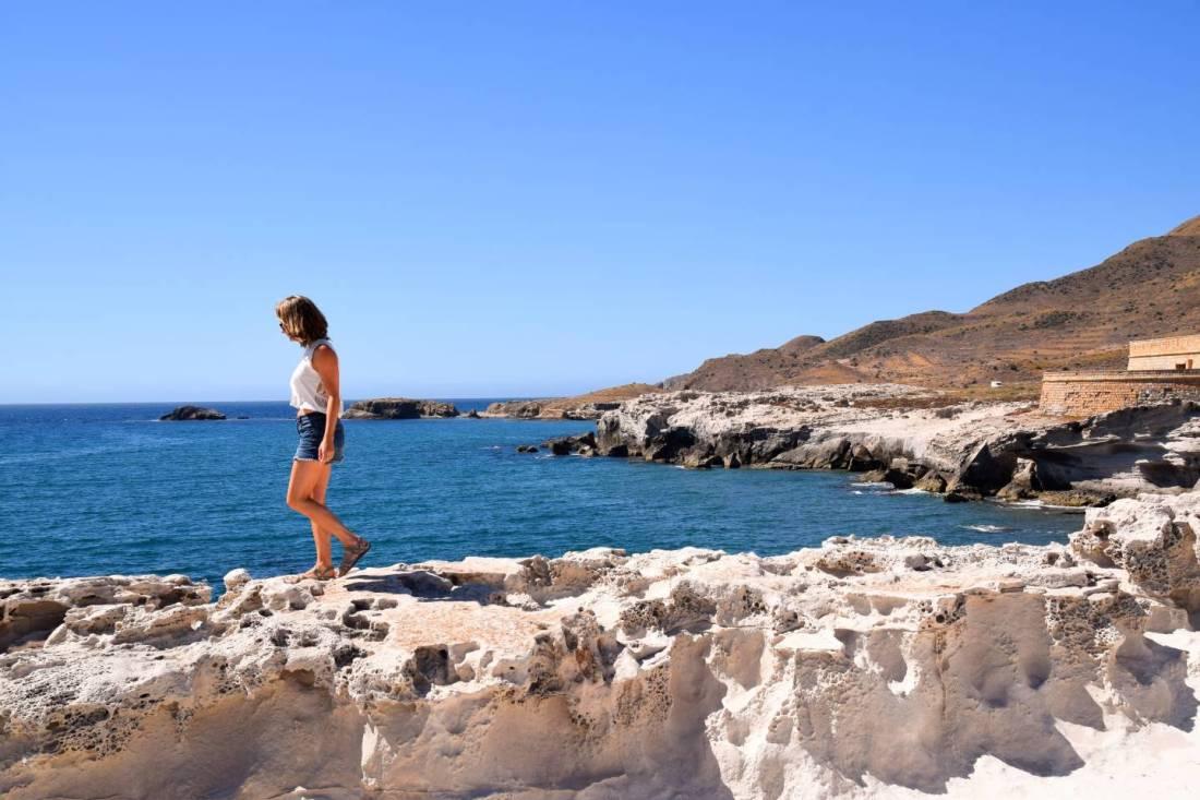 Dunas Fosiles Cabo de Gata Los Escullos Almeria