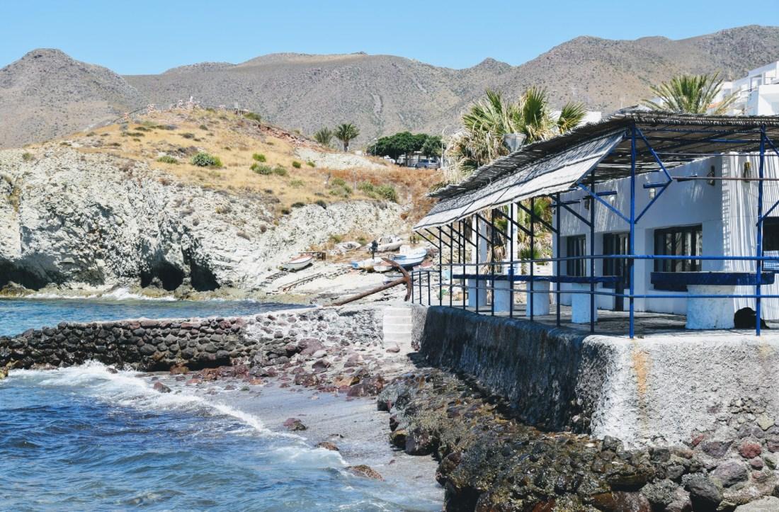 La Isleta del Moro en Cabo de Gata Almería