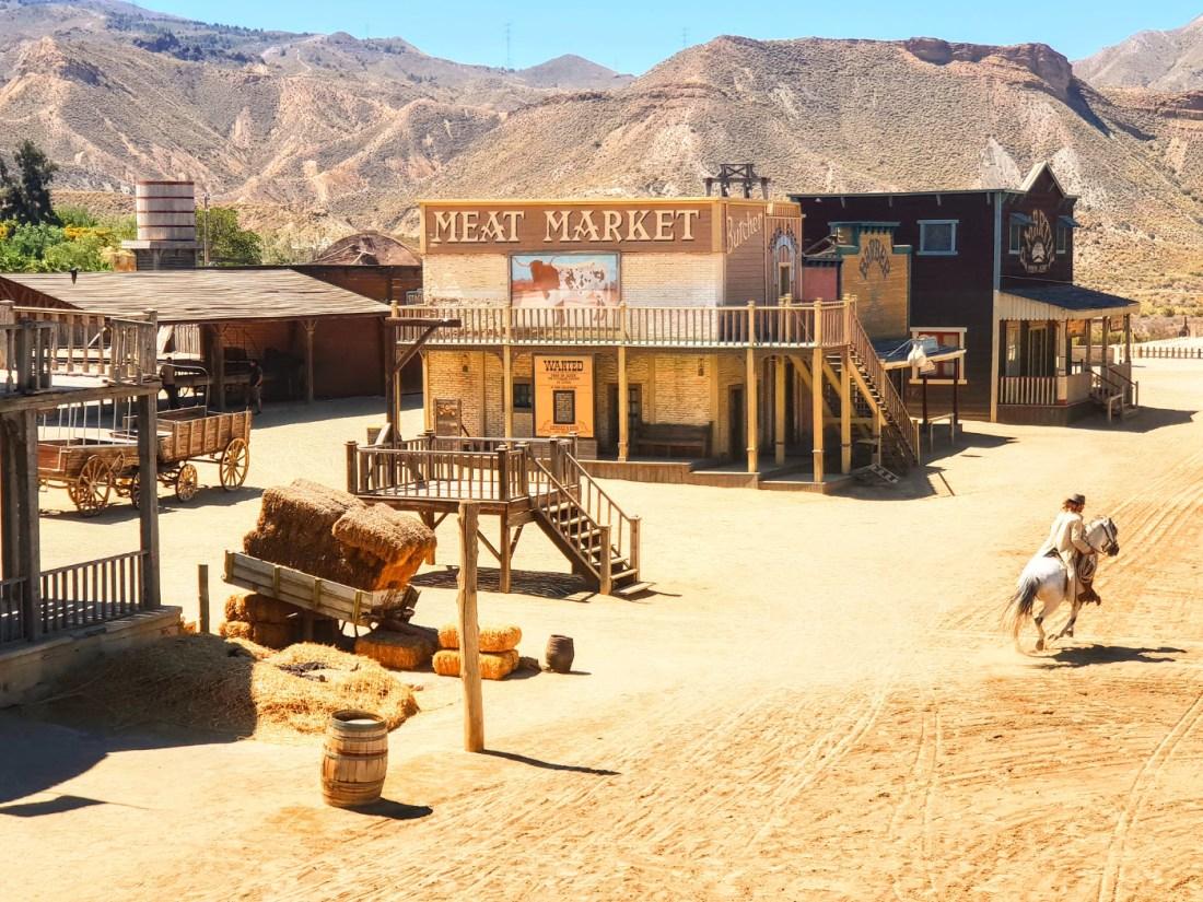 Mini Hollywood desierto de Tabernas Almería
