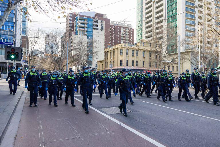 Australia puso militares en las calles