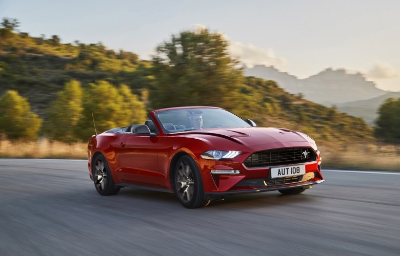 Ford Mustang 55 Cabriolet