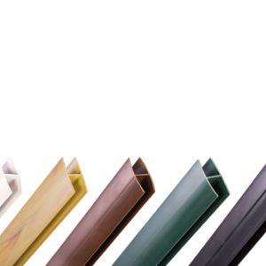 PERFILES REMATE Y UNION CELOSIAS PVC