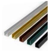 PERFIL REMATE PVC U 2.06 MARRON