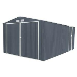 garaje metalico oxford gris antracita