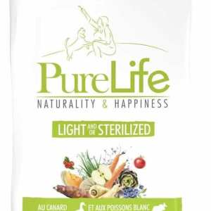 PureLife Light or Sterilized (dieta o esterelizado) 2 Kg – 28% Proteína 11% Materia grasa