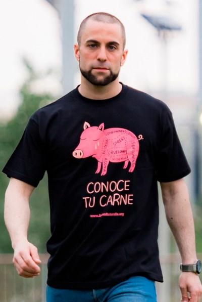 Camiseta Conoce Tu Carne Unisex
