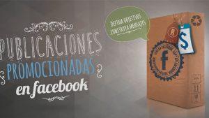 Publicaciones promocionadas en Facebook