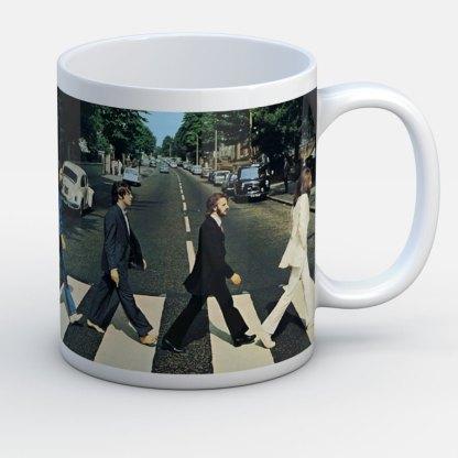 Beatles Inmortales Abby Road - Jarro de cerámica personalizado