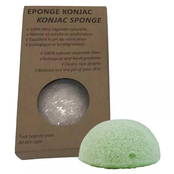 esponja de Konjac con aloe vera