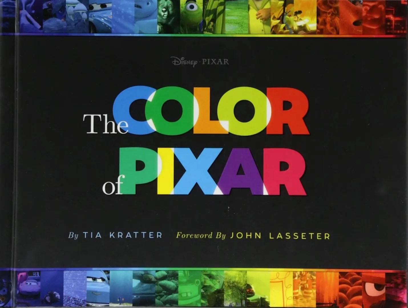 color of pixar artbook