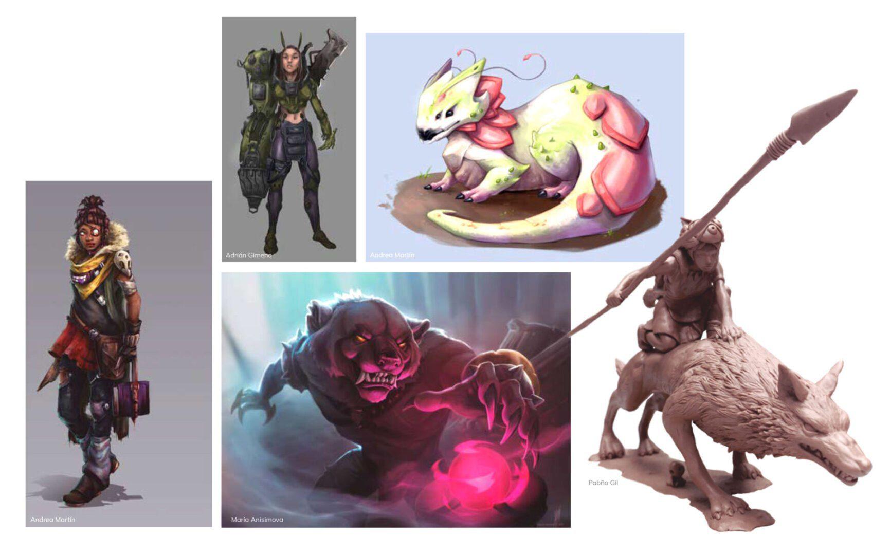 curso de concept art para videojuegos