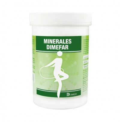 Minerales 500 cápsulas – Dimefar