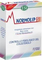 Normolip 5 30 cápsulas – ESI / Trepatdiet