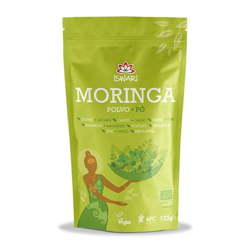 Moringa polvo Bio 125g – Iswari