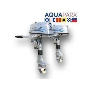 Motor FUERABORDA AQUAPARX 5 HP - Motor Aquaparx Fueraborda 5 HP