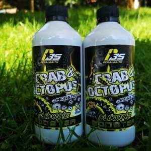 Remojo 500 ml monstercrab octopus peralbaits - Remojo Booster Fluorine Crab Octopus Peralbaits 500 ml