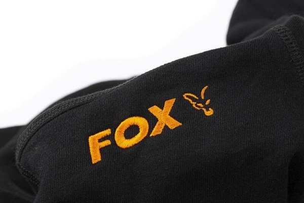 sudadera fox negra 2 - Sudadera Fox negra con capucha