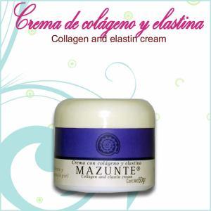 Crema con colageno y elastina
